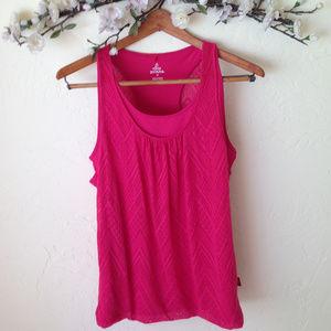 PrAna Pink Workout Tank Top.